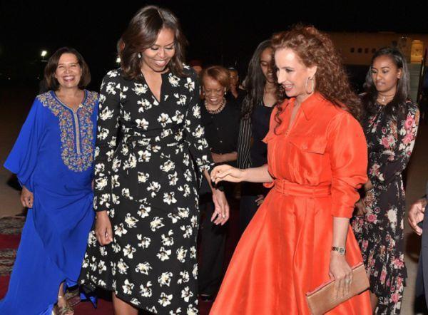 Michelle Obama au Maroc