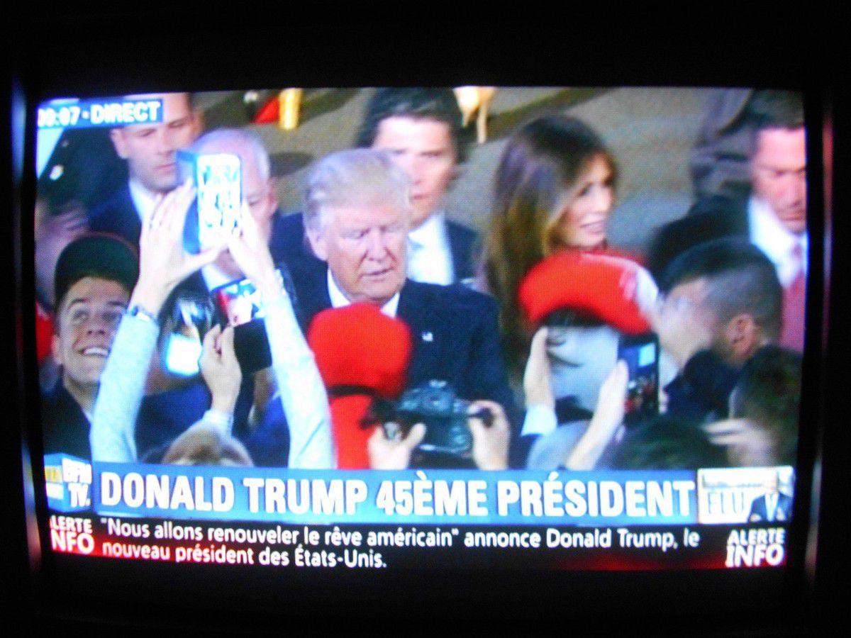 Donald Trump, 45ème président des États-Unis