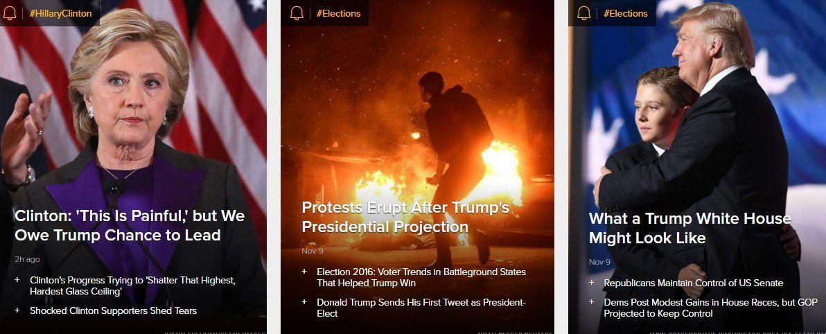 Présidentielle américaine : les unes de la presse