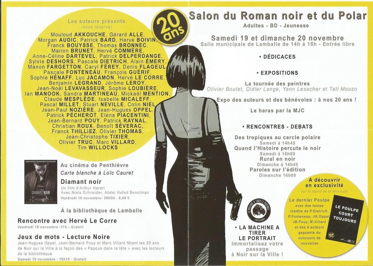 """""""Noir sur la ville"""" à Lamballe"""