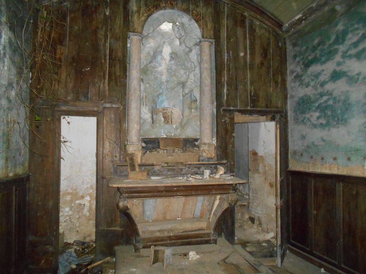 Une chapelle abandonnée