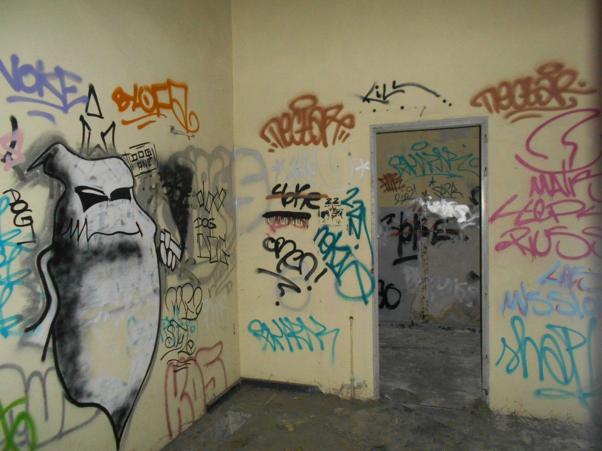 Street Art & Urbex dans l'ancienne friche