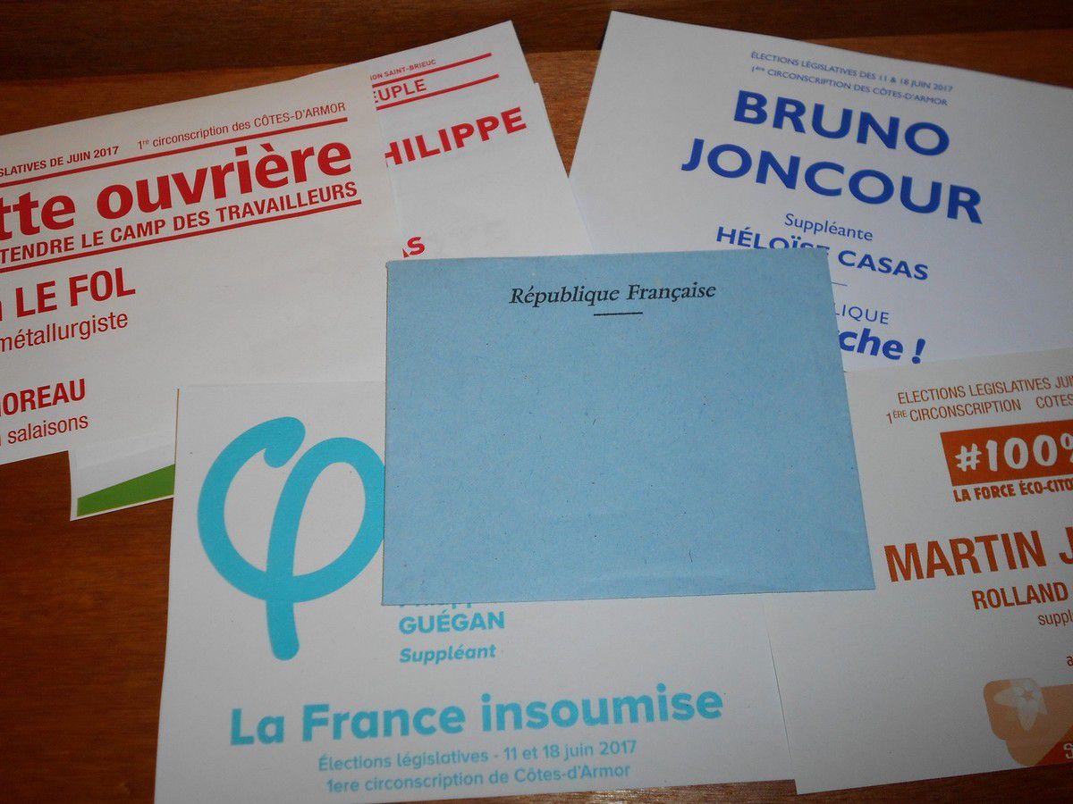 Un dimanche de vote : Élection législative