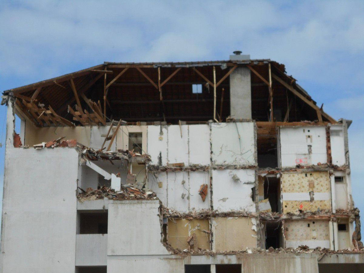 La cité Waron - Déconstruction -