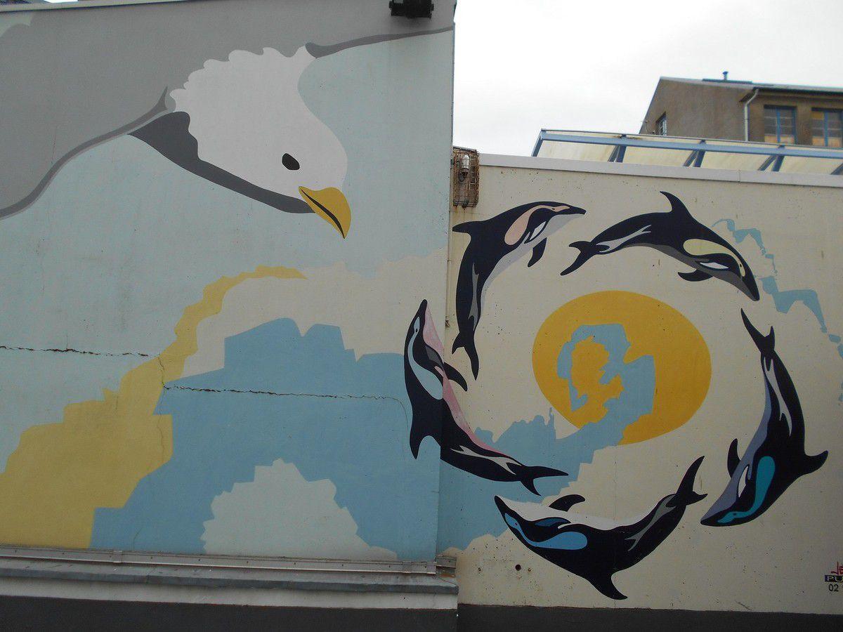 Street Art : Ambiance de la mer