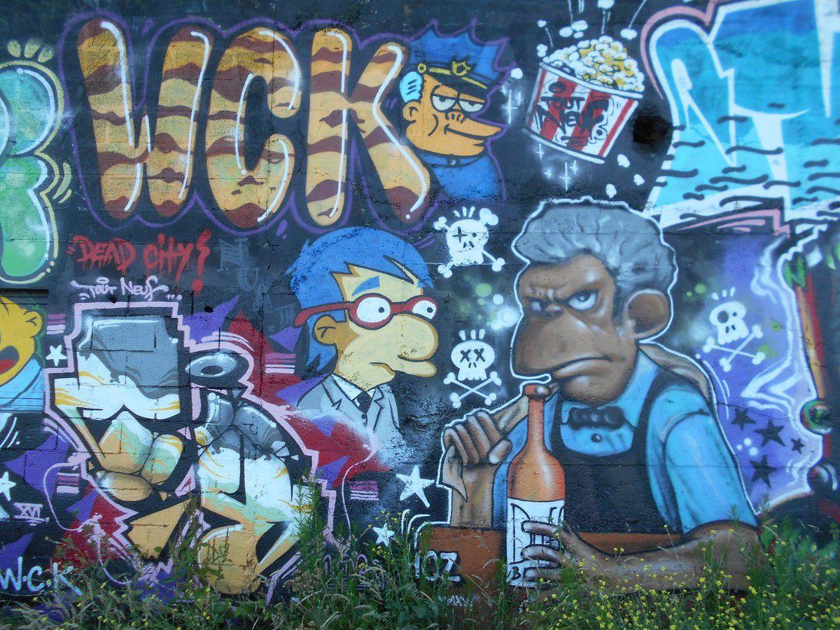 Street Art à Saint-Brieuc