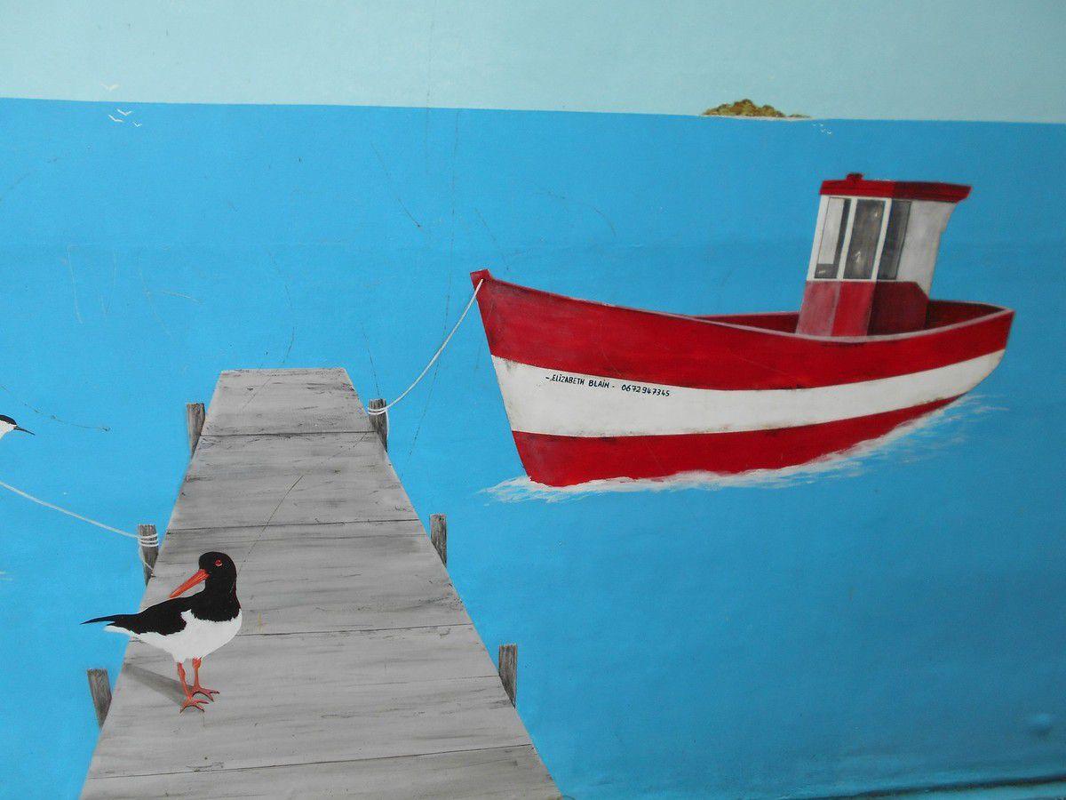 Street Art 22 : Ambiance de la mer