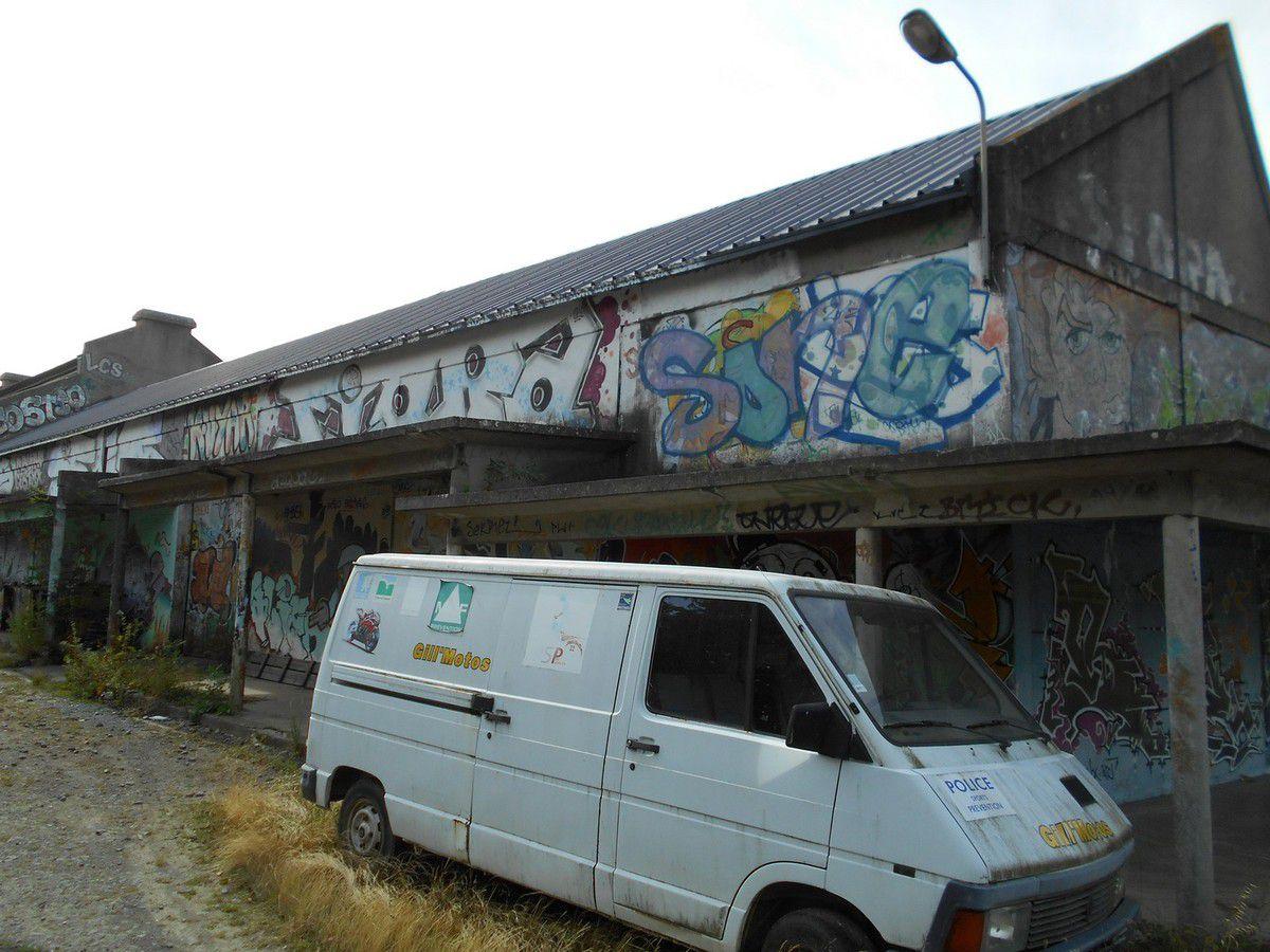 Street Art dans la cité Briochine