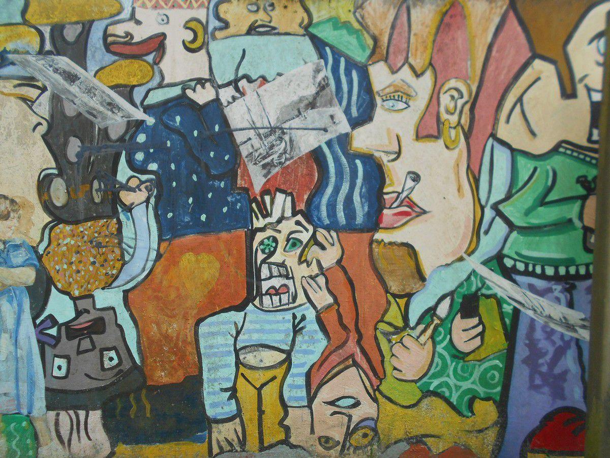 Graffitis du 22