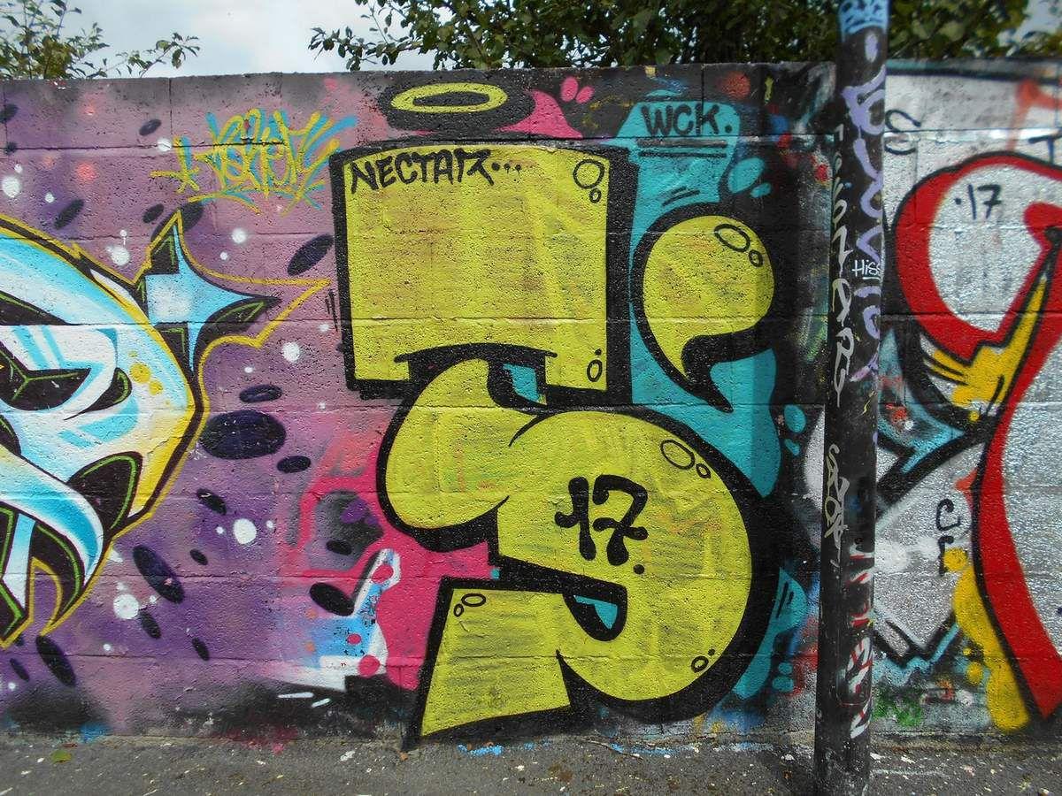 Les graffitis de l'ouest