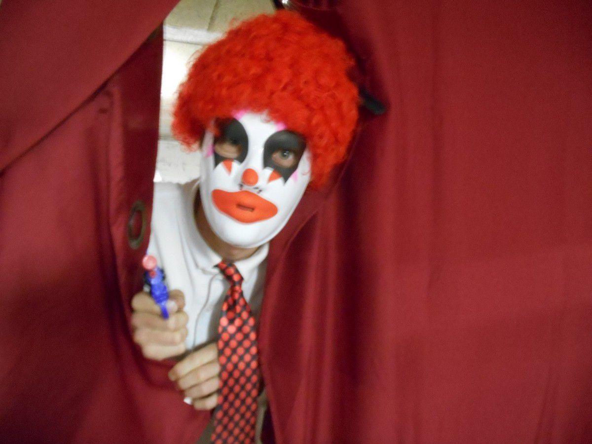 Le clown d'Halloween