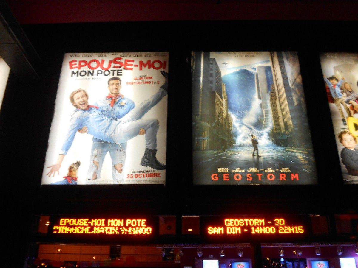 Un samedi au cinéma : GEOSTORM