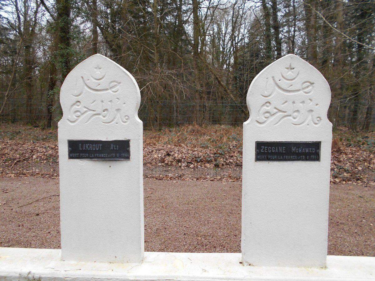 Le cimetière des 31 martyrs du bois de Boudan