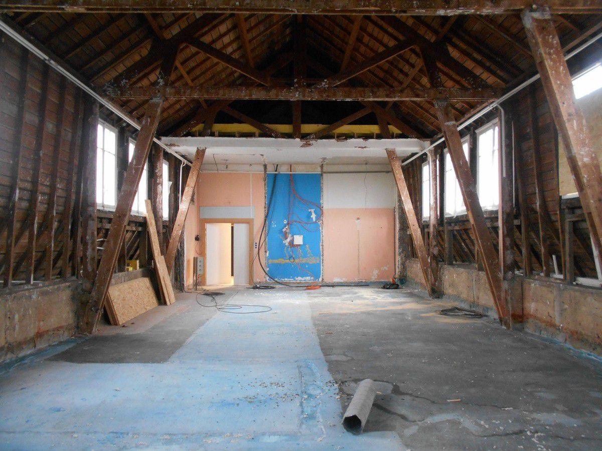Urbex 22 : Le bâtiment en travaux
