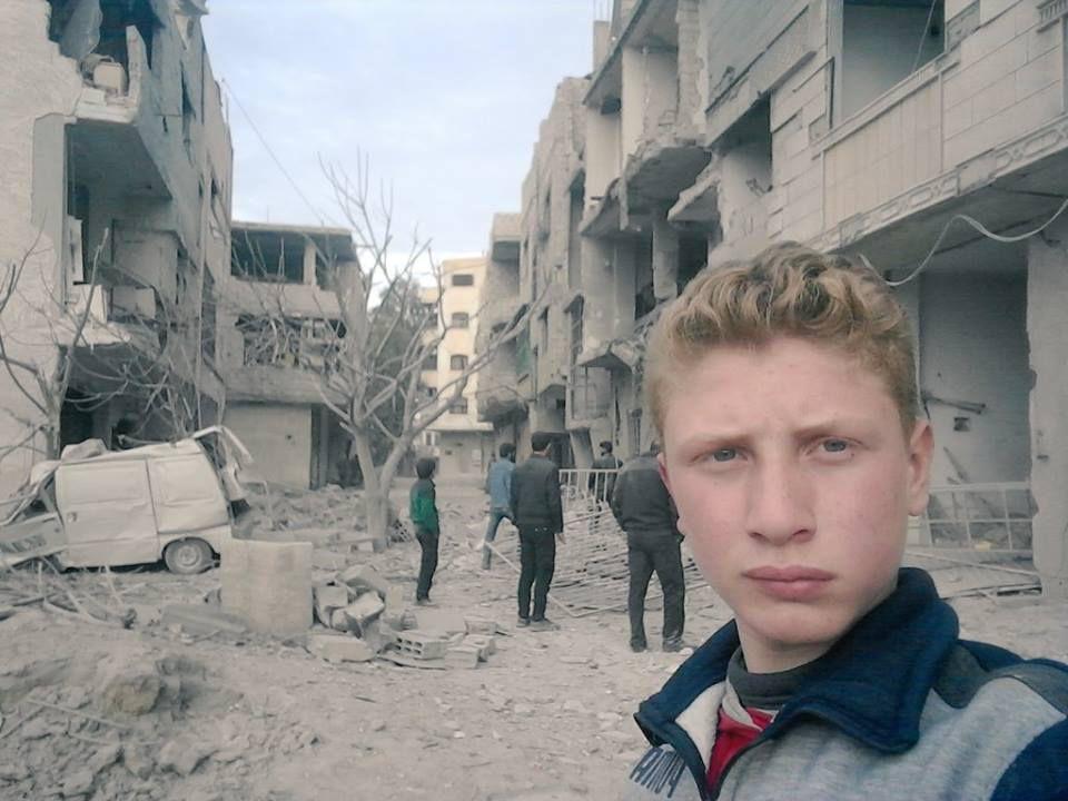 En Syrie, ce garçon de 15 ans filme l'enfer de la Ghouta au quotidien