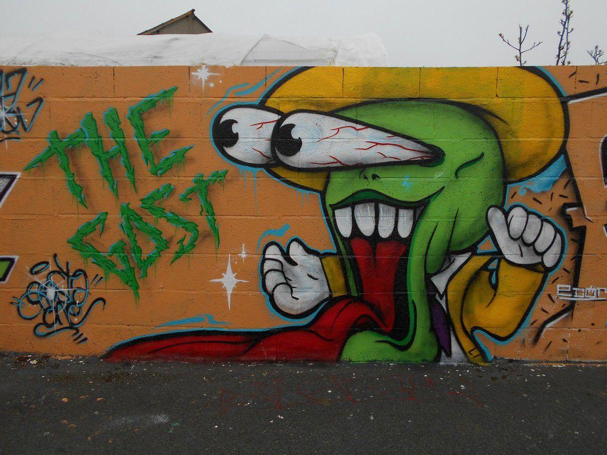 Street Art 22 : Le secteur de Bigorno