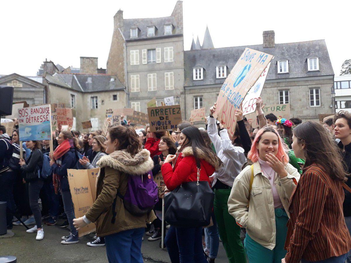 Marche pour le climat à Saint-Brieuc