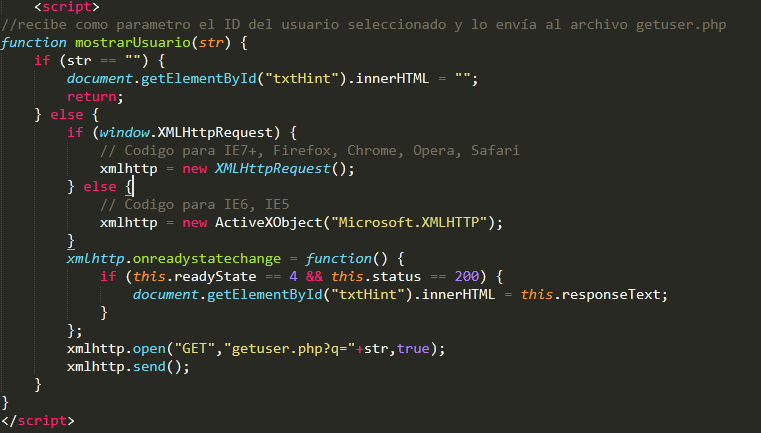 Tutorial: Ajax con PHP y Bases de datos