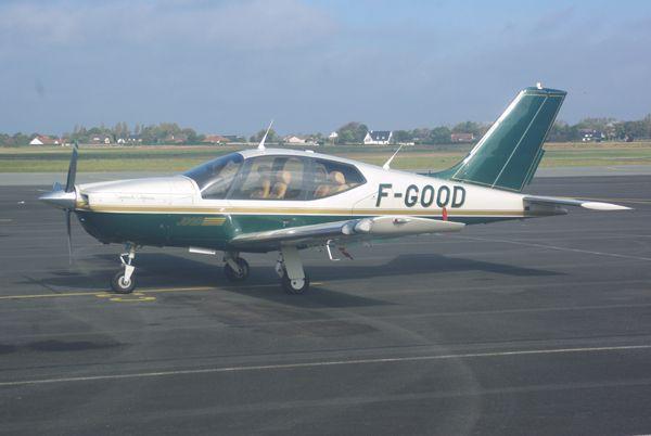 L'élégant Socata TB-20 Trinidad F-GOOD.