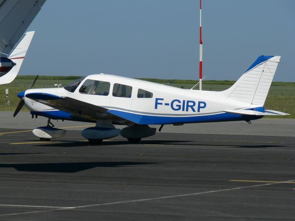 Le Piper PA-28 F-GIRP. (Photo: Laurent Lamouche)