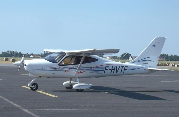 Le Tecnam P-2008 F-HVTF. (photo: JF Butel)
