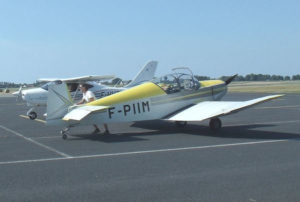 Le Jodel D-112 F-PIIM. (photo: JF Butel)
