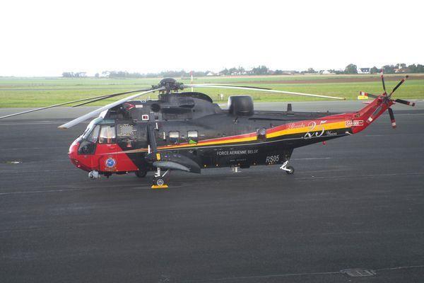 Le magnifique Sikorsky (Westland) Sea King MK48 RS05 de l'Armée Belge.