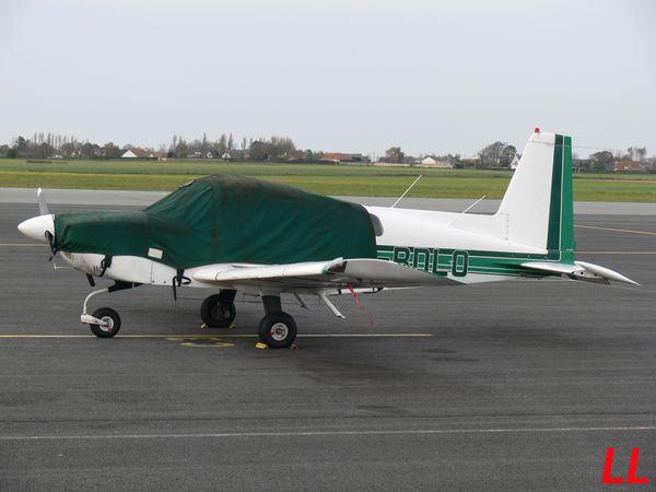 Le Grumman AA-5 G-BDLO.