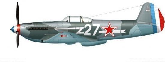 Yakovlev Yak 3 du Normandie Niemen