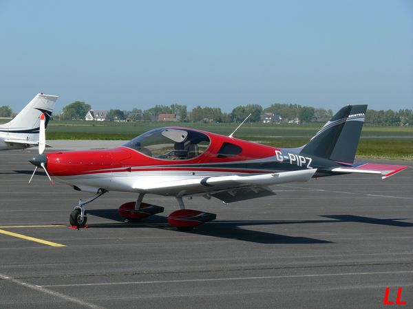 Bristell NG-5 Speed Wing G-PIPZ.