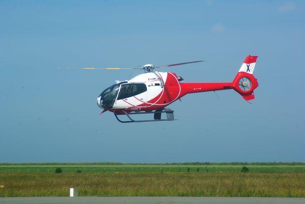 Voici l'Eurocopter EC-120 Colibri F-HBKX.