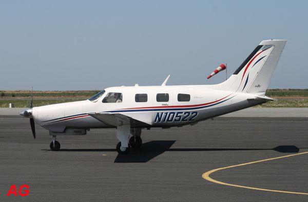 Le Piper PA-46-350P Malibu Mirage N10522