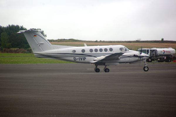 Le Beech King Air 200 D-IVIP.