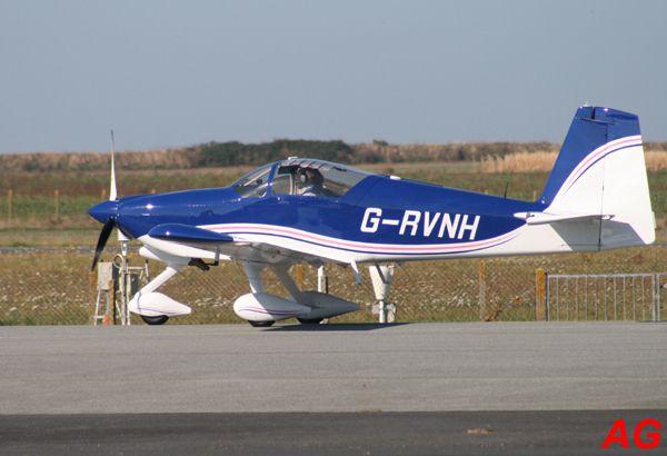 Le Vans RV-9 G-RVNH.