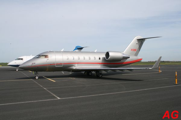 Le Bombardier (Canadair) CL-600B Challenger N1088.