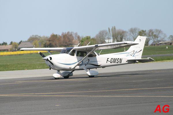 Le Cessna 172 F-GMSN.