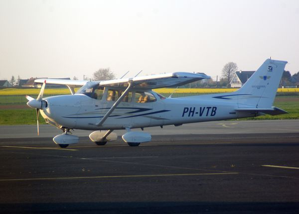 Le Cessna 172 PH-VTB.