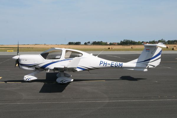 Le Diamond DA-40 PH-EGM. (Photo AG)