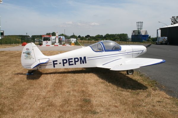 Le Nicollier HN-700 Menestrel F-PEPM. (Photo AG)