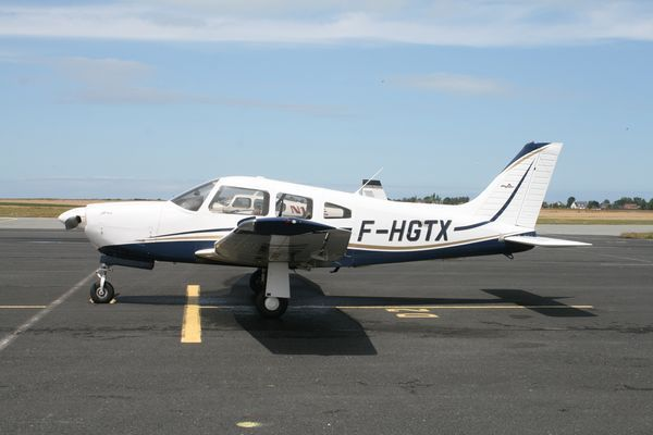 Le Piper PA-28 F-HGTX. (Photo AG)