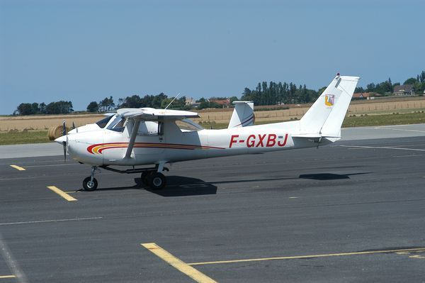 Le Cessna 150 F-GXBJ. (Photo AG)