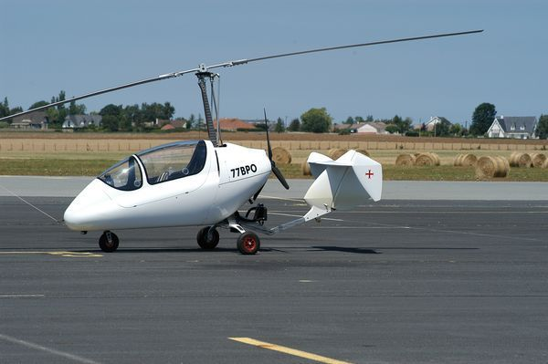Le Trixy G4-2 Gyrocopter F-JAMQ (77BPO). (Photo AG)