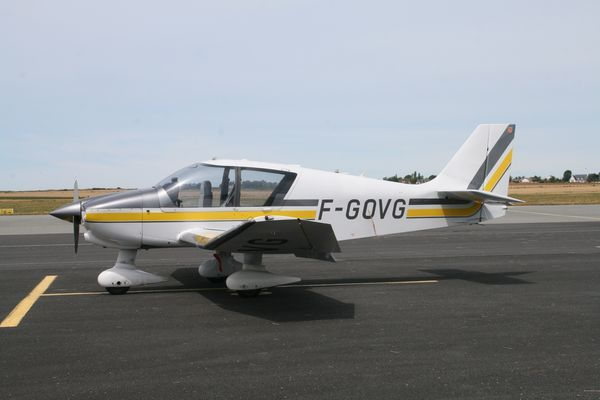 Le Robin DR-400 F-GOVG. (Photo AG)