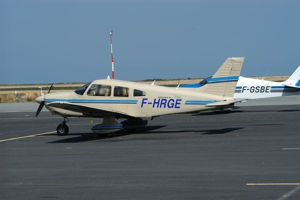 Le Piper PA-28 F-HRGE. (Photo AG)