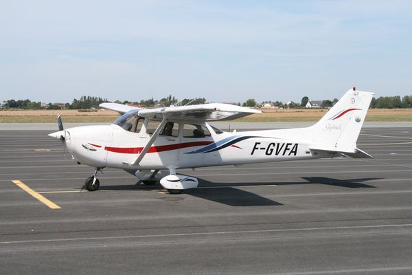 Le Cessna 172 F-GVFA. (Photo: AG)