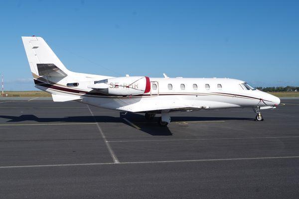 Le Cessna Citation Excel XLS SE-RMR.