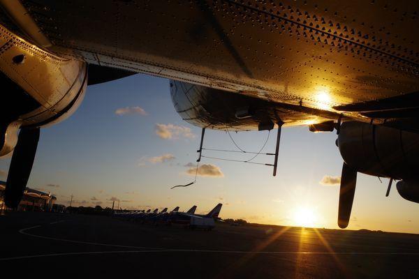 Le soleil se couche, il est tant de nous quitter et nous retrouver pour la Patrouille de France la prochaine fois.