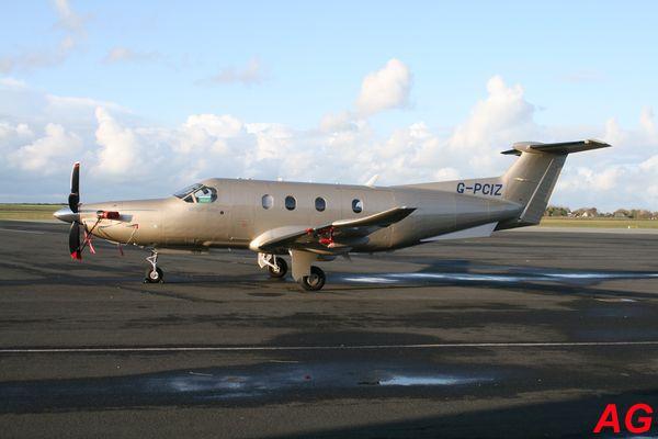 Le Pilatus PC-XII G-PCIZ.