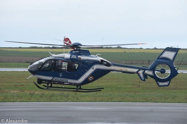 Le Eurocpter EC-135 F-MJDL déjà venu.