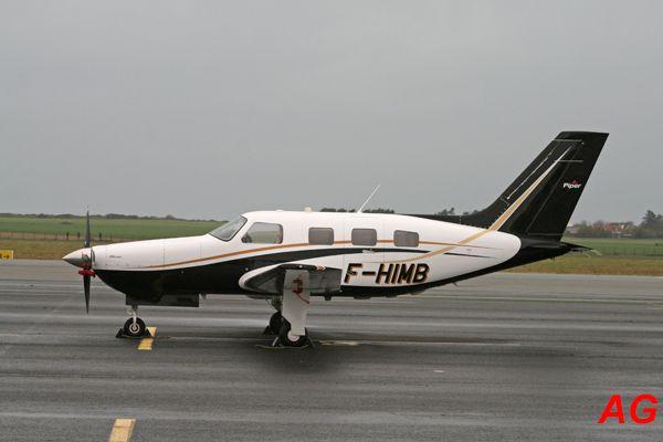 Le Piper PA-46-350P Malibu Mirage F-HIMB.